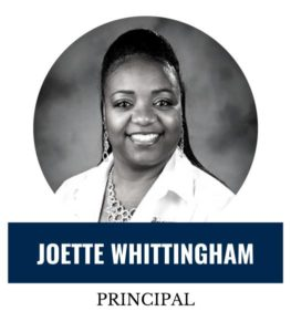 My name is Ms. Joette Whittingham and it is a privilege and an honor to be the Principal of Global Outreach Charter Academy High School, Go Kodiaks! I am a Virginia native and happy to call Jacksonville, Florida my second home. <span>Learn more</span>