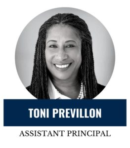 Hello, my name is Toni Previllon, more affectionately known as Ms. Toni and I am proud to be your Parent Liaison/Assistant Principal here at Global Outreach Charter High. <span>Learn more</span>